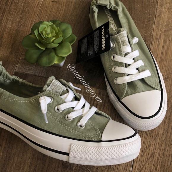 Converse Sage Green Shoreline Sneaker